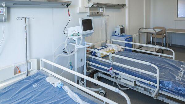 Строительство инфекционной больницы в ТиНАО - Sputnik Аҧсны