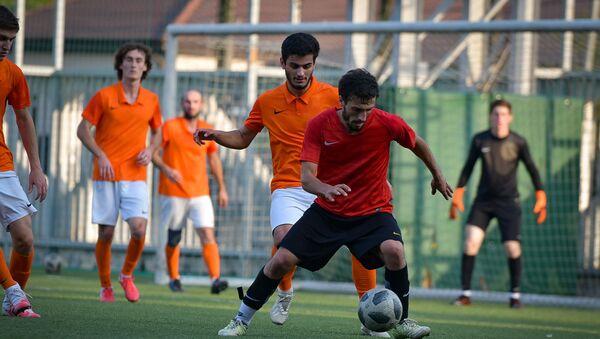 Футбольный матч между командами Афон - Гагра - Sputnik Абхазия