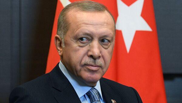 Президент РФ В. Путин встретился с президентом Турции Р. Т. Эрдоганом - Sputnik Абхазия