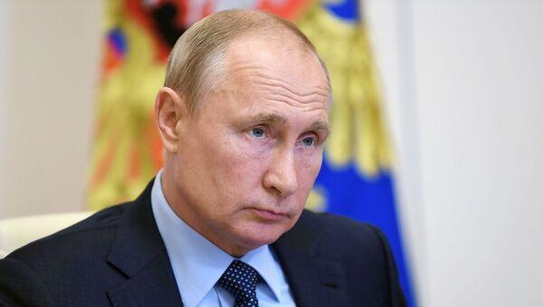 Президент РФ В. Путин провел встречу с социальными работниками госучреждений и НКО - Sputnik Аҧсны