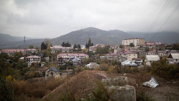 Нагорный Карабах во время обострения конфликта - Sputnik Аҧсны