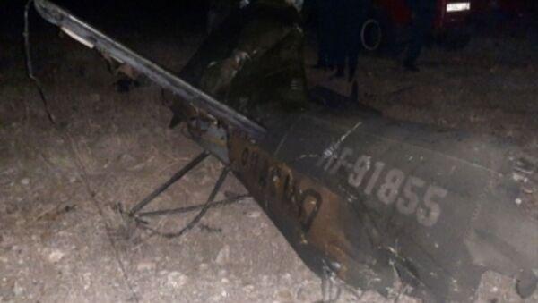 Место крушения сбитого российского вертолета Ми-24 - Sputnik Аҧсны