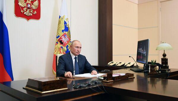 Путин адҵа ҟаиҵеит COVID-19 азы алаҵаҟаҵара иалагарц иааиуа амчыбжь - Sputnik Аҧсны
