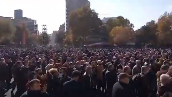 Митинг в Ереване - Sputnik Абхазия