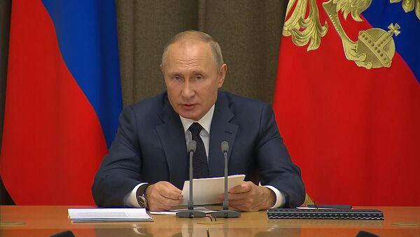 Путин рассказал, в каких случаях Россия может использовать ядерное оружие - Sputnik Абхазия