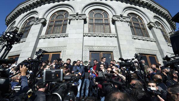 Митинг оппозиции в Ереване - Sputnik Абхазия