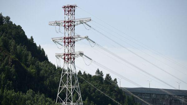 Высоковольтная ЛЭП в Хакасии - Sputnik Аҧсны