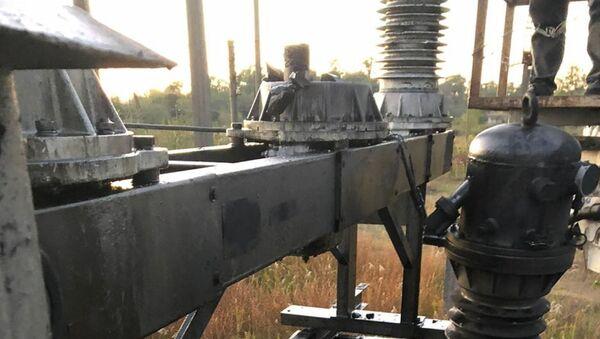 Авария на ПС Очамчыра 2  - Sputnik Аҧсны