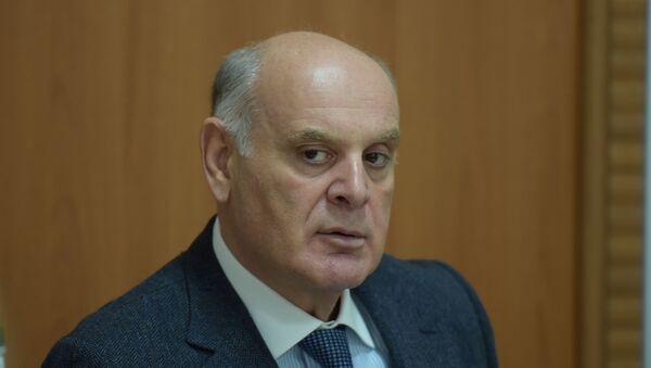 Пресс-конференция президента Абхазии Аслана Бжания - Sputnik Аҧсны