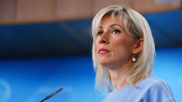 Брифинг официального представителя МИД РФ М. Захаровой - Sputnik Абхазия