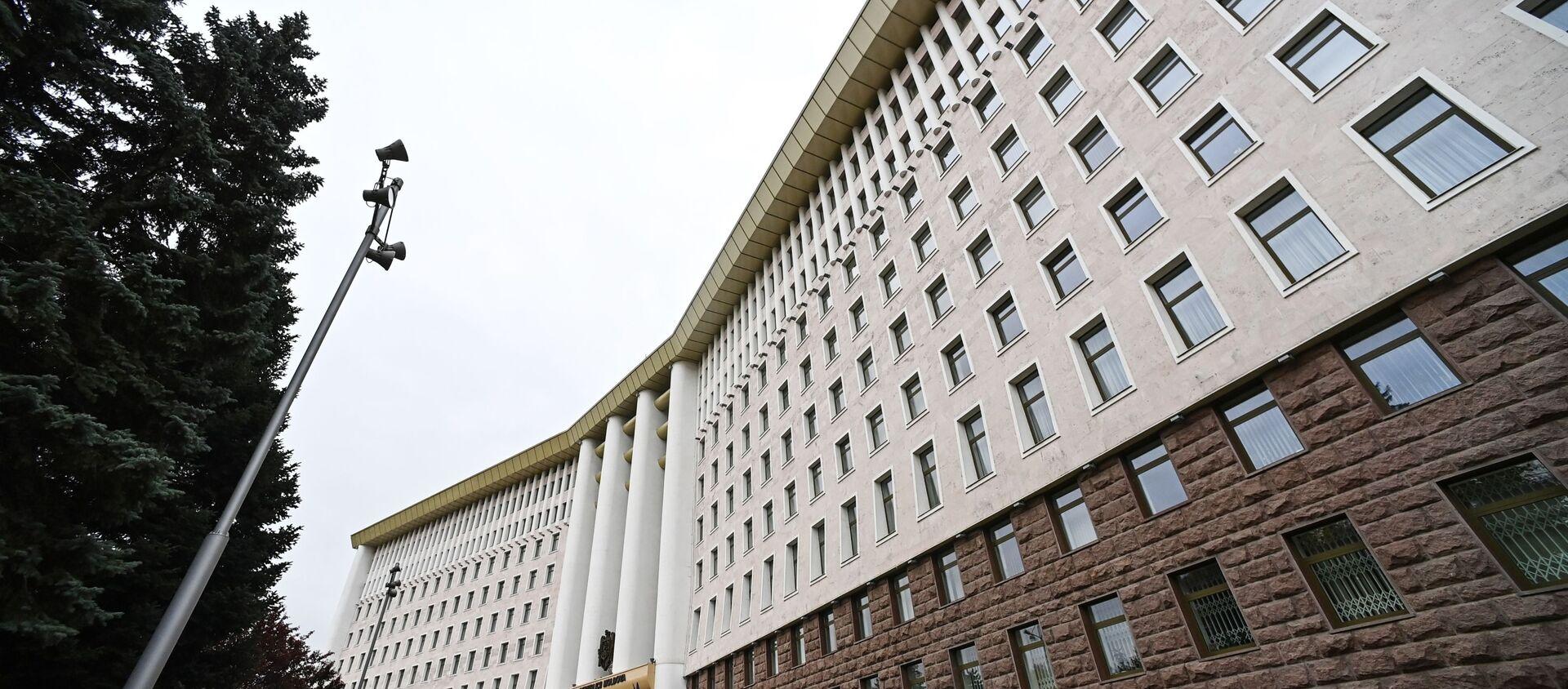 Здание Парламента в Кишиневе. - Sputnik Абхазия, 1920, 24.11.2020