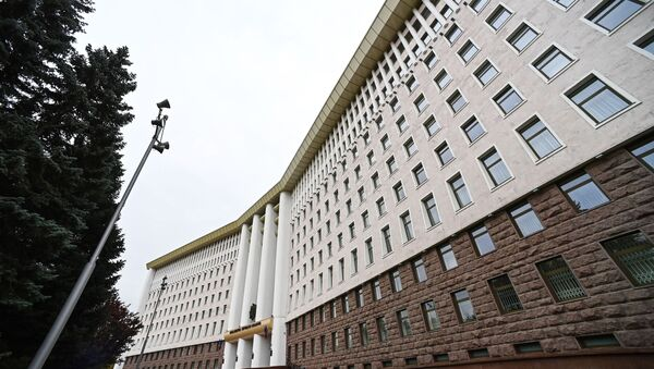Здание Парламента в Кишиневе. - Sputnik Абхазия