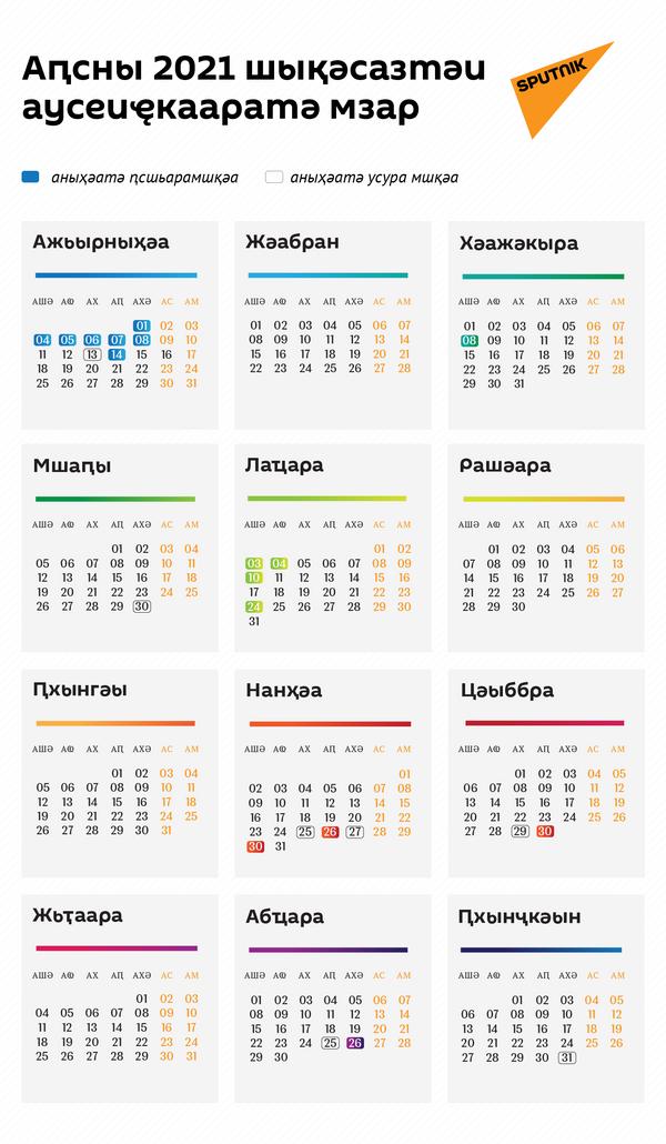Аԥсны 2021 шықәсазтәи аусеиҿкааратә мзар - Sputnik Аҧсны