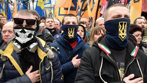Акции протеста в Киеве - Sputnik Абхазия