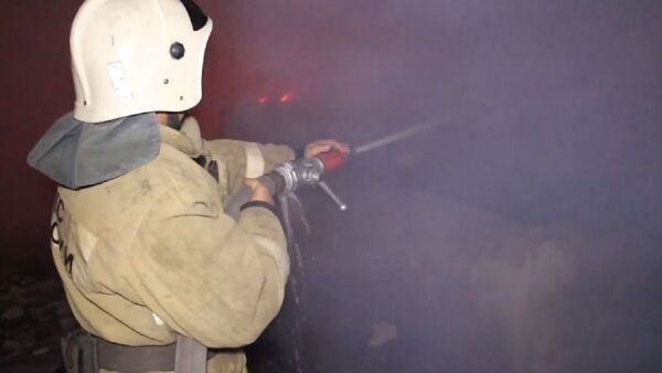 Пожар в кинотеатре  - Sputnik Абхазия