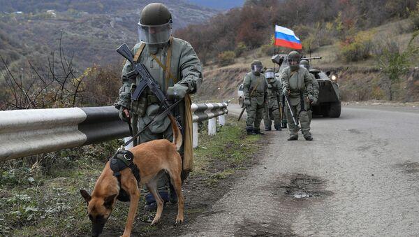 Специалисты противоминного центра Минобороны РФ приступили к работе в Карабахе - Sputnik Аҧсны