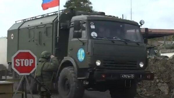 Прибытие российских военных медиков в Степанакерт - Sputnik Аҧсны