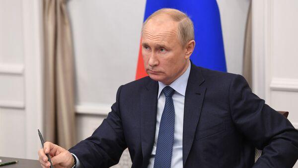 Рабочая поездка президента РФ В. Путина в Нижегородскую область - Sputnik Абхазия