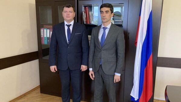 Минпросвещения Абхазии подписало договор с Белгородским технологическим университетом  - Sputnik Аҧсны