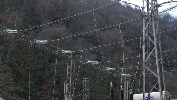 Открытие Сухумской ГЭС - Sputnik Абхазия