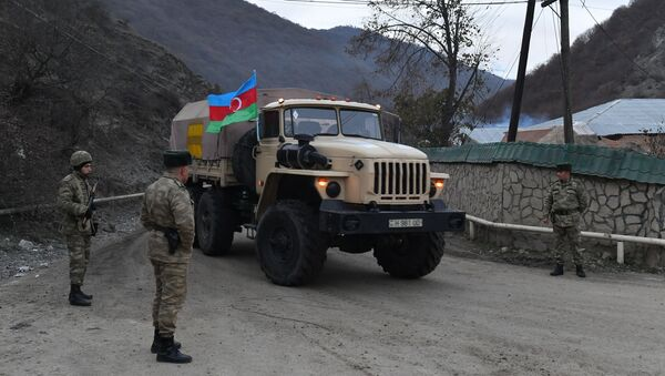 Азербайджанская армия вошла в Кельбаджарский район - Sputnik Абхазия