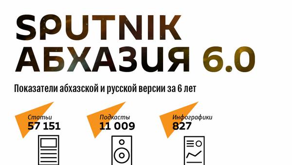 Спутник Абхазия 6 лет  - Sputnik Абхазия