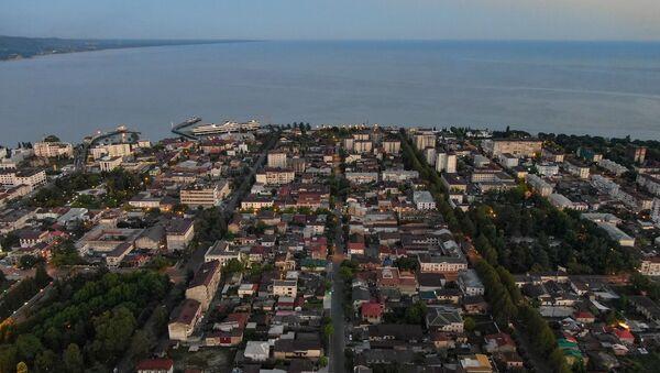 Вид на Сухум с птичьего паллета   - Sputnik Абхазия