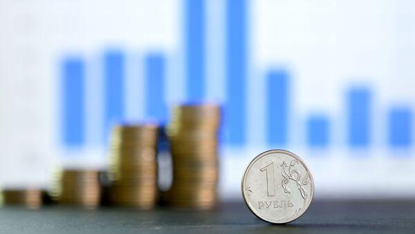 Монета номиналом один рубль. - Sputnik Абхазия