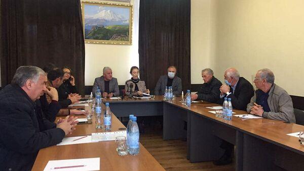 Заседание Совета Общественной палаты - Sputnik Аҧсны