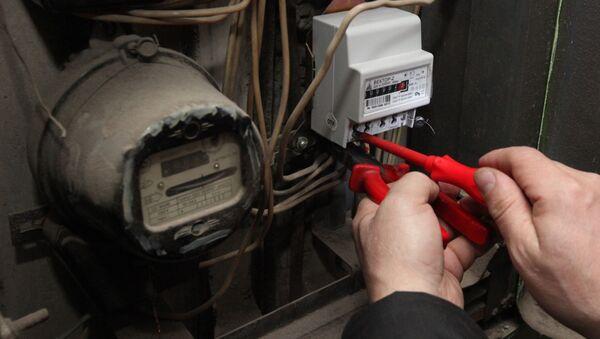 Замена старых электросчетчиков в жилых домах Владивостока - Sputnik Аҧсны