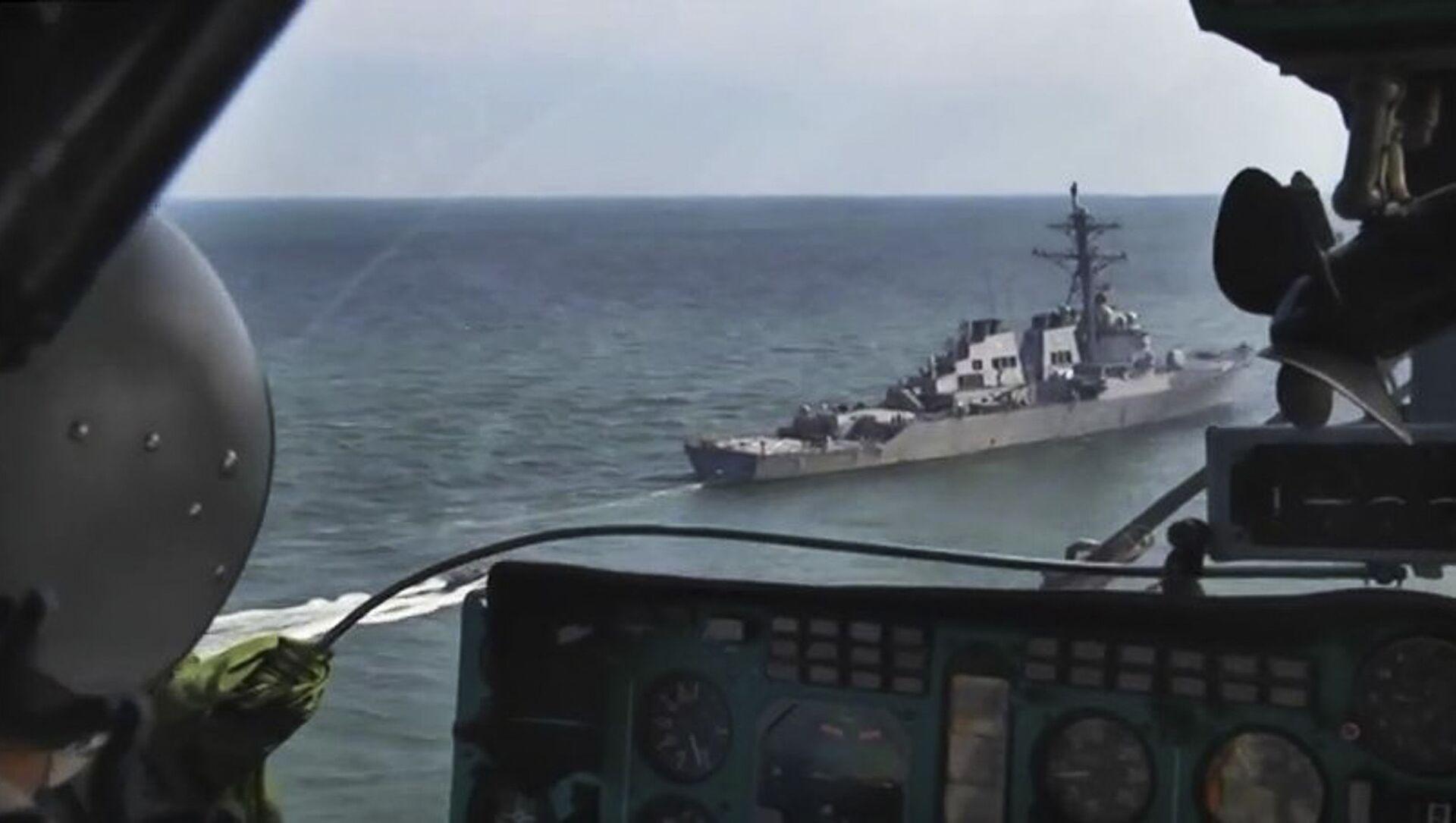 Облет акватории Черного моря в дни учения стран НАТО Sea Breeze-2019 - Sputnik Аҧсны, 1920, 19.02.2021
