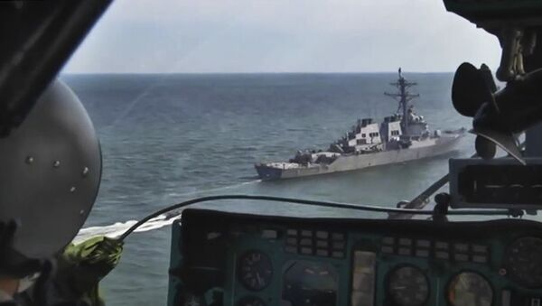 Облет акватории Черного моря в дни учения стран НАТО Sea Breeze-2019 - Sputnik Аҧсны