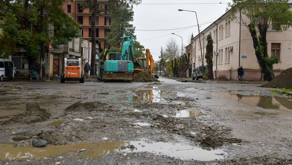 Замена водопроводных труб  - Sputnik Абхазия