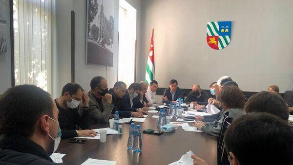 Заседание горсобрания Сухума по бюджету - Sputnik Аҧсны