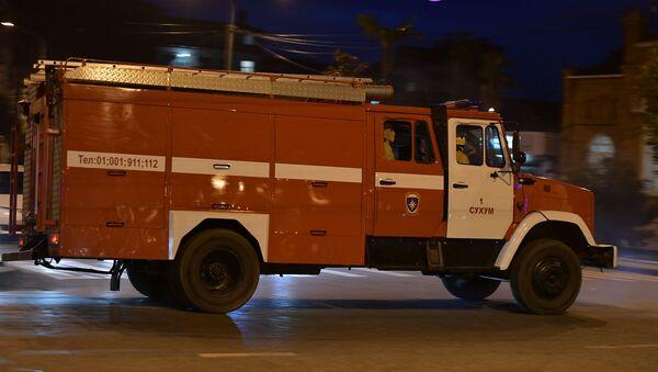 Пожарная машина  - Sputnik Аҧсны