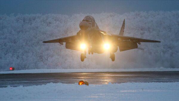 Тренировочные полеты авиагруппы ТАВКР Адмирал Кузнецов - Sputnik Абхазия