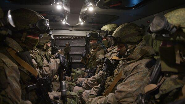 Учения подразделения разведки Западного военного округа - Sputnik Абхазия