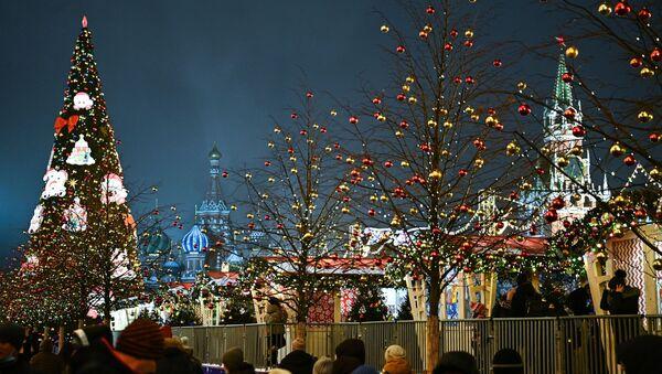 Москва в преддверии Нового года - Sputnik Абхазия