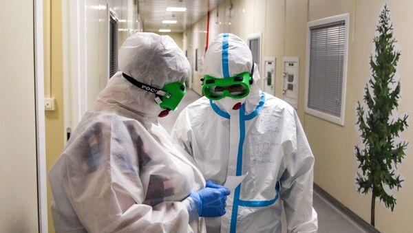 Инфекционный госпиталь в Иркутской области - Sputnik Абхазия