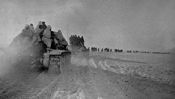 Наступление частей советской армии в районе Богучара - Sputnik Абхазия