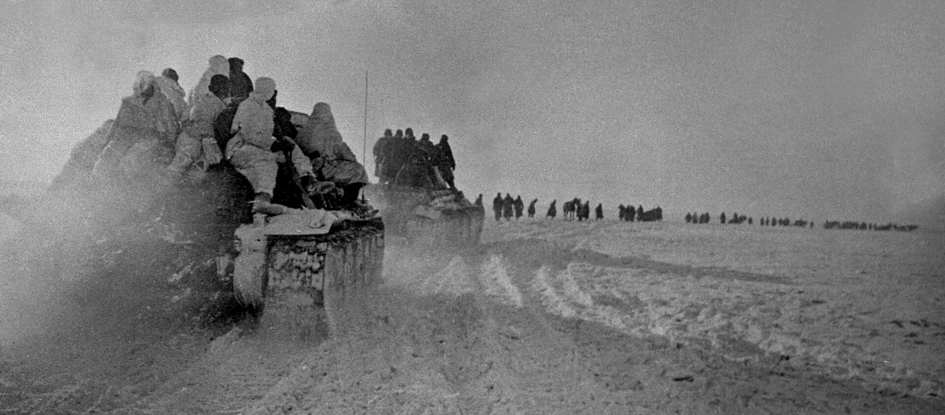 Наступление частей советской армии в районе Богучара - Sputnik Абхазия, 1920, 07.01.2021