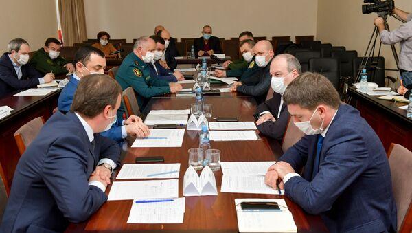 Заседание Координационного штаба  - Sputnik Аҧсны