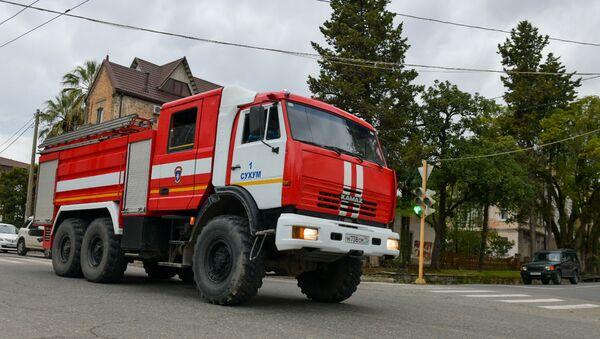 Пожарная машина  - Sputnik Абхазия