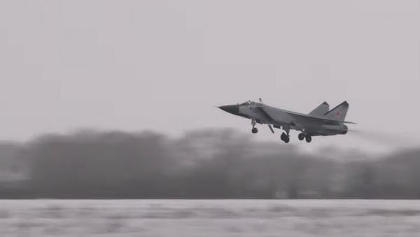 Полеты МиГ-31БМ в Пермском крае - Sputnik Абхазия
