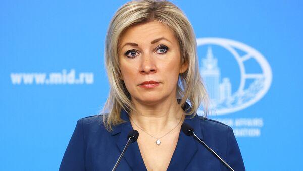 Брифинг официального представителя МИД России М. Захаровой - Sputnik Аҧсны