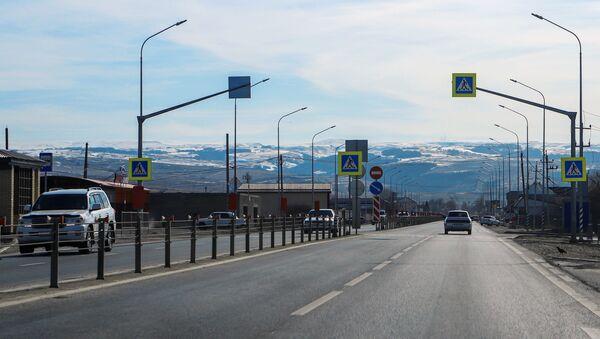 Участок федеральной трассы А-155 после реконструкции - Sputnik Аҧсны