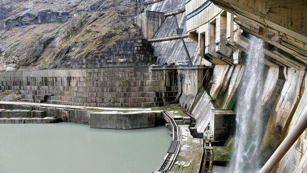 Ингур ГЭС  - Sputnik Аҧсны