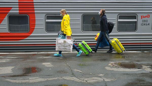 Работа Казанского вокзала - Sputnik Аҧсны
