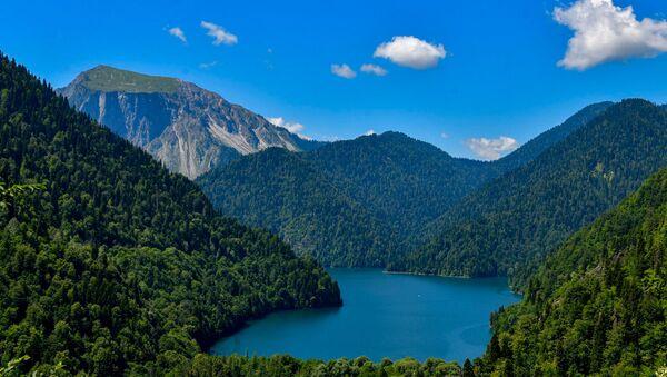 Рицинский реликтовый национальный парк в Абхазии - Sputnik Аҧсны