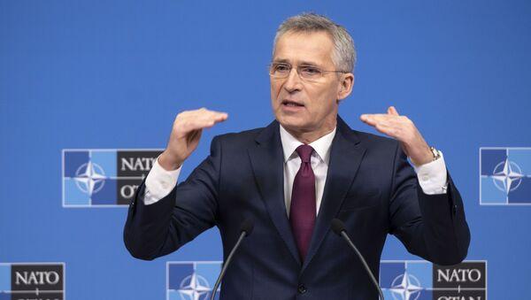 Пресс-конференция генерального секретаря НАТО Йенса Столтенберга  - Sputnik Абхазия